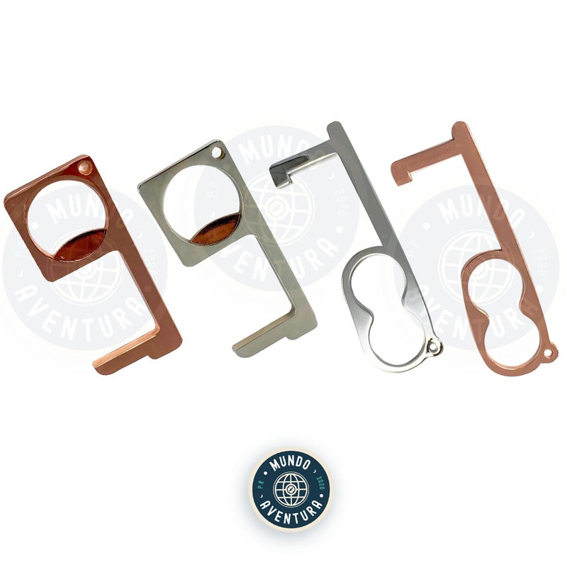 Two finger & Bottle Door Opener Keychain (Touch Screens)