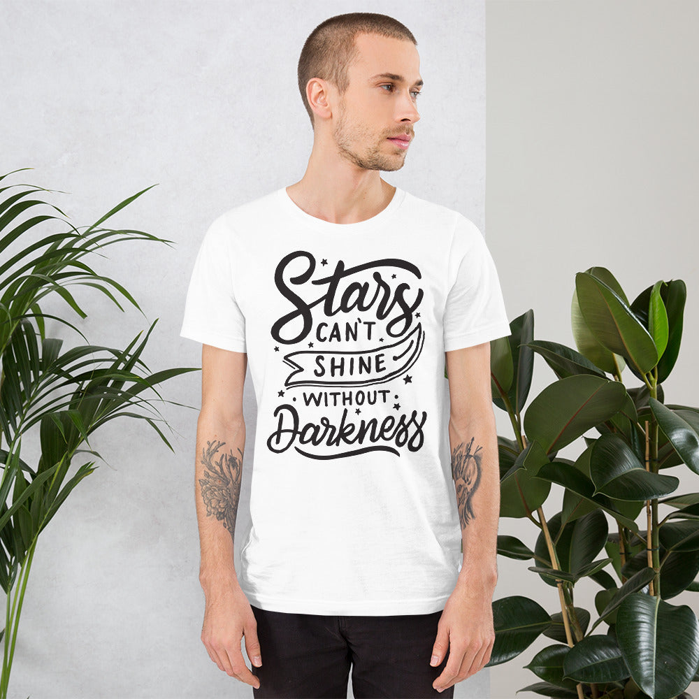 Star Can't Shine Without Darkness Short-Sleeve T-Shirt