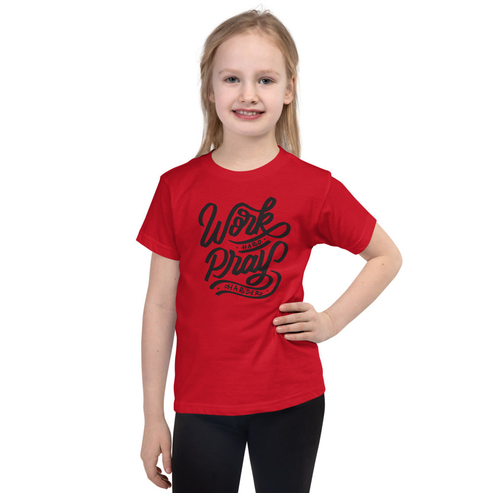 Work Hard kids T-shirt