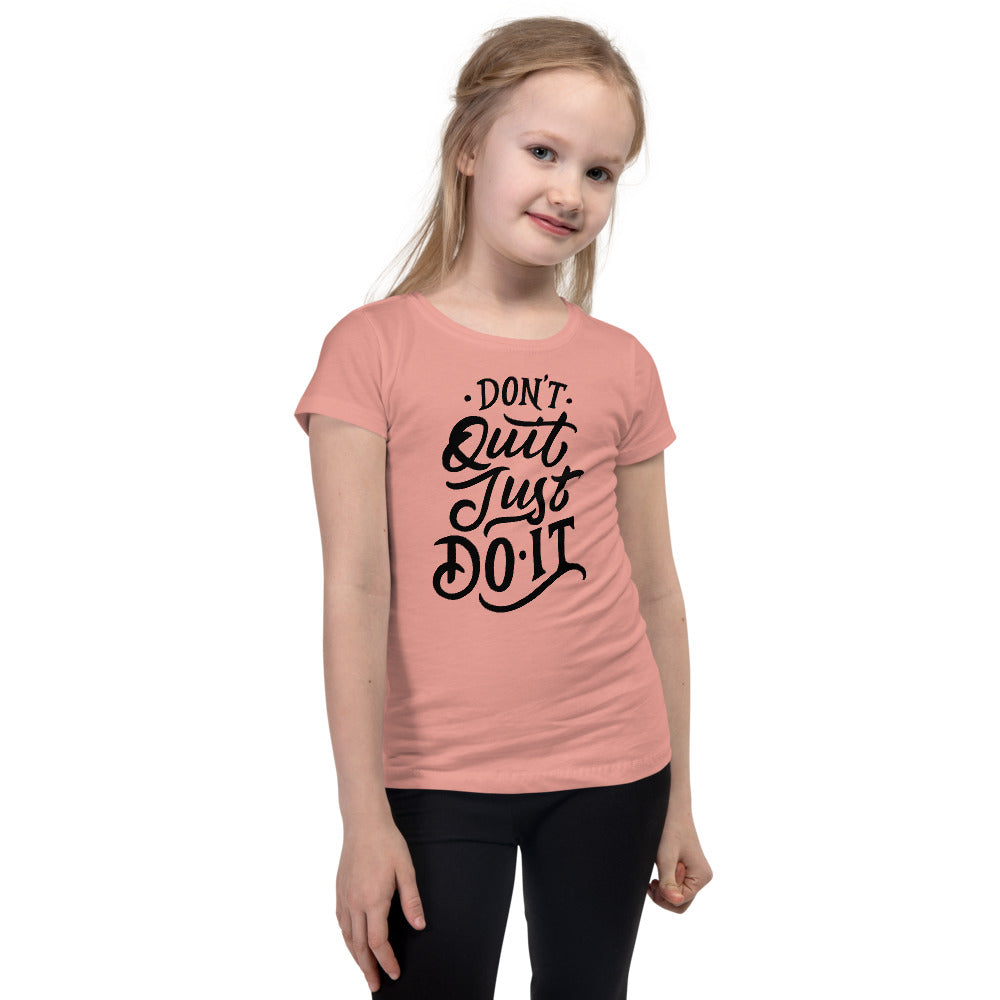 Just Do It Girl's T-Shirt