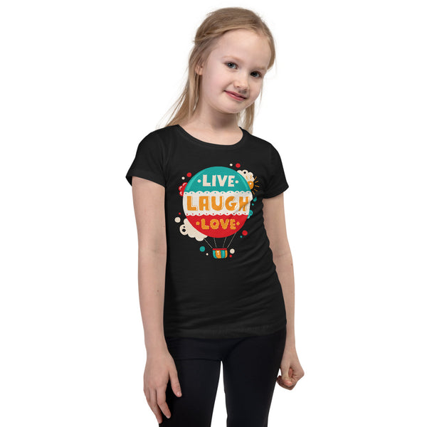 Live Laugh Love Girl's T-Shirt