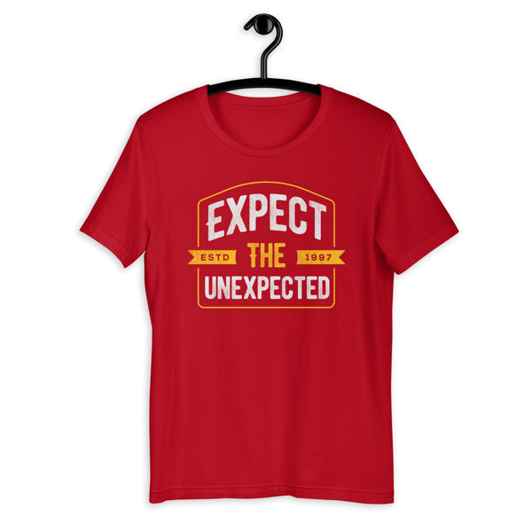 Expect The Unexpected White Version Short-Sleeve T-Shirt