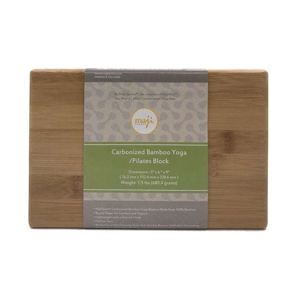 Bamboo Yoga Block - Wellness Temple