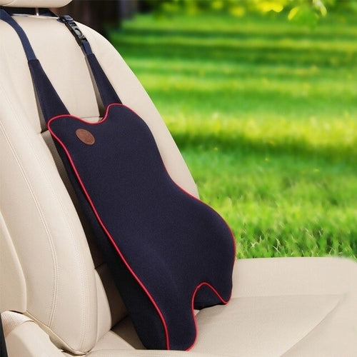 Supportive and Comfortable Lumbar Seatback Car Pillow Cushion - Wellness Temple