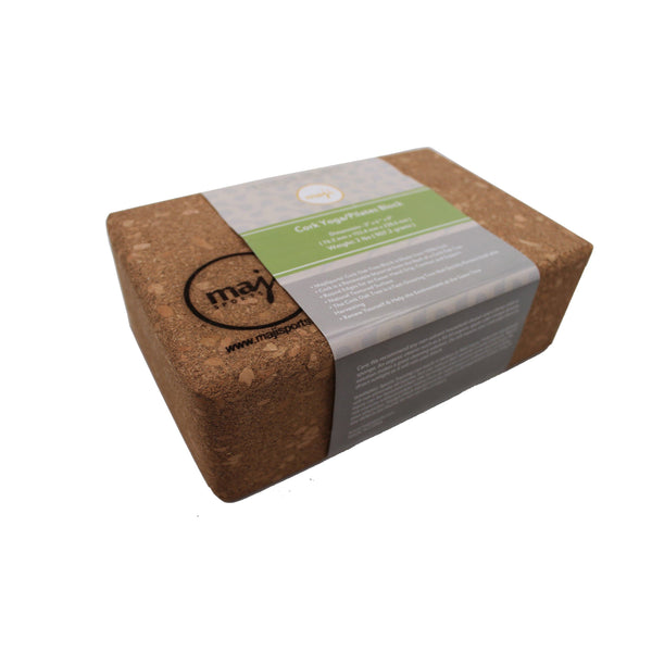 Cork Yoga Block - Wellness Temple