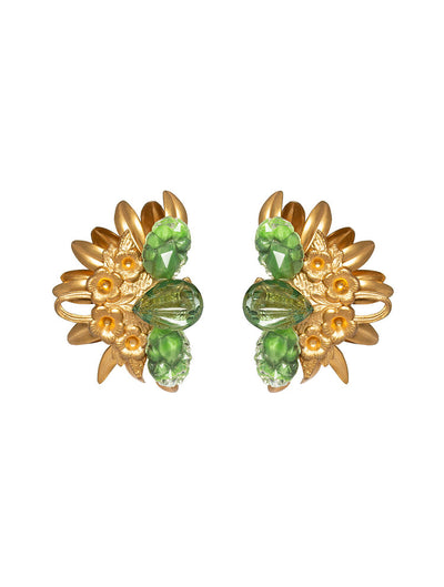 Tamara Clip Earrings