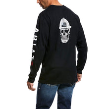 Load image into Gallery viewer, Ariat FR Roughneck Skull Logo T-Shirt LS