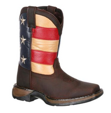 Load image into Gallery viewer, Kid's Durango American Flag Boots