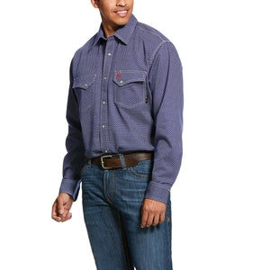 Ariat FR Mantle Classic Fit Snap Work Shirt