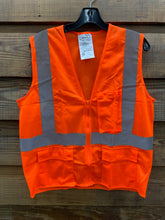 Load image into Gallery viewer, IRONWEAR Safety Vest- Orange