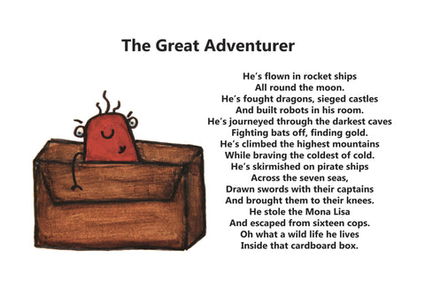 The Great Adventurer Teacher Note Cards Pacakge of 10