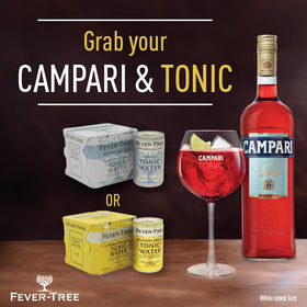 Campari promo   fever tree  logo