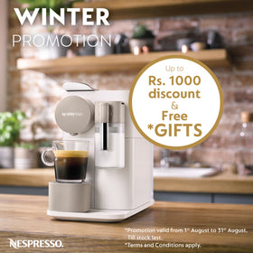 Nespresso winter promotion logo