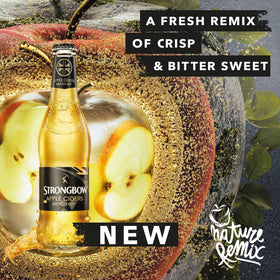 New strongbow british dry banner design  fb post
