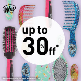 Wet brush promo logo