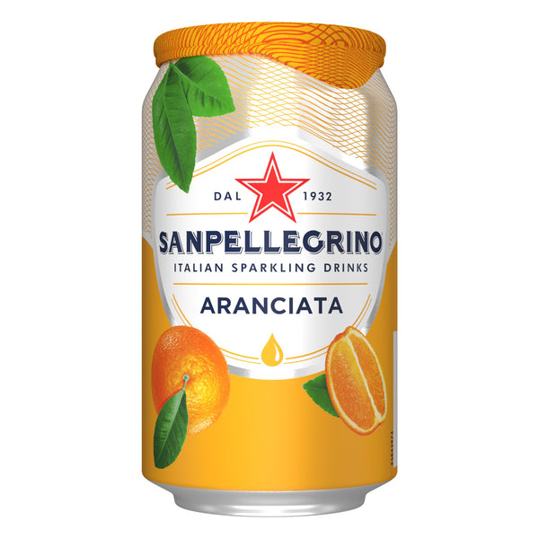 SANPELLEGRINO ARANCIATA 33CL (Pack of 6)