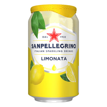 SANPELLEGRINO LIMONATA 33CL (6 in a pack)