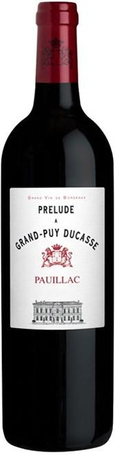 PRELUDE GRAND PUY DUCASSE PAUILLAC 2012