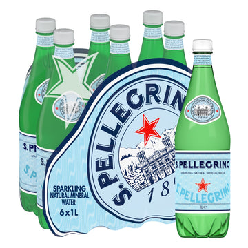 S.PELLEGRINO 1000ML PET (6 in a pack)