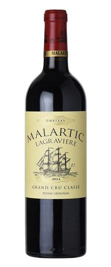 CHATEAU MALARTIC LA GRAVIERE PESSAC LEOGNAN 2014 (to redeem this product via Scott Smile Rewards you need 30,000 points)