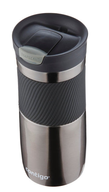 CONTIGO BYRON STAINLESS STEEL GUNMETAL 470ML