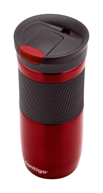 CONTIGO BYRON STAINLESS STEEL RED 470ML