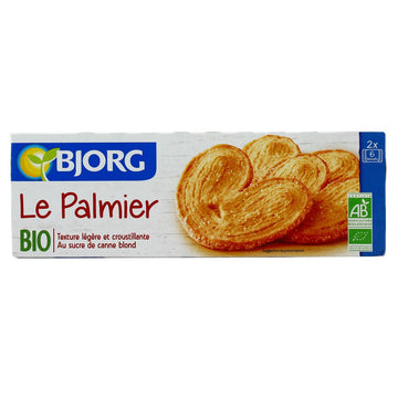 BJORG BISCUIT PALMIER 100G (Best Before: 30.10.2020)
