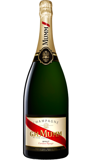 MUMM CORDON ROUGE MAGNUM 150CL (to redeem this product via Scott Smile Rewards you need 55,000 points)