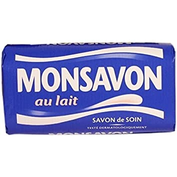 MONSAVON SOAP BAR Lait - Authentique 200g (Pack of 4)