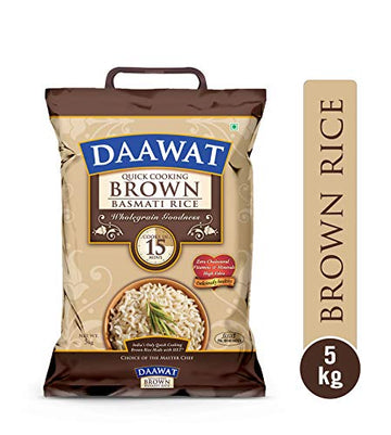 DAAWAT XL BROWN RICE 5KGS- HOUSE OF DAAWAT