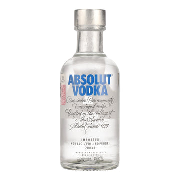ABSOLUT VODKA 20CL