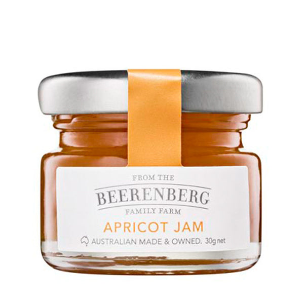 BEERENBERG APRICOT JAM 30G (Pack of 12) (Best Before:05.11.2020