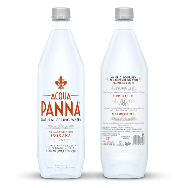 ACQUA PANNA 1000ML PET (12 in a pack)
