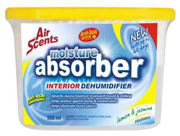 Air Scents Moisture Absorber Lemon & Jasmine 500ml