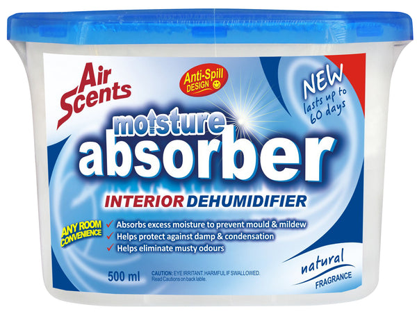 Air Scents Moisture Absorber Natural 500ml