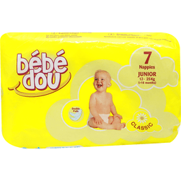 BEBE DOU YELLOW CLASSIC JUNIOR 07 Per pack