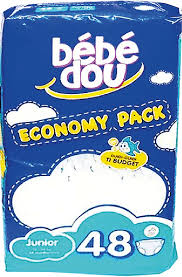 BEBEDOU ECONOMY JUNIOR 48 Per pack