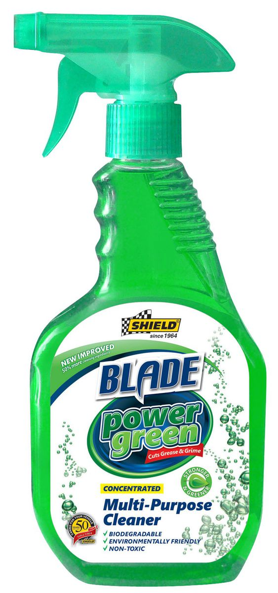 SHIELD BLADE POWERGREEN CLEANER