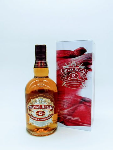 CHIVAS REGAL 12 YRS WHISKY 70CL TIN