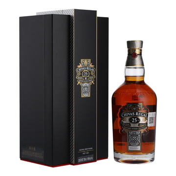 CHIVAS REGAL 25YO 70CL (to redeem this product via Scott Smile Rewards you need 100,000 points)