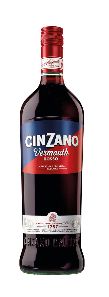 CINZANO VERMOUTH ROSSO 75CL (to redeem this product via Scott Smile Rewards you need 4,000 points)
