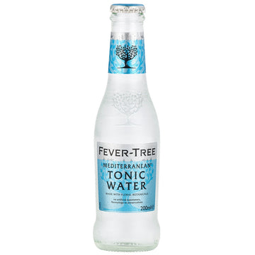 FEVER TREE TONIC 200ML - MEDITERRANEAN TONIC WATER