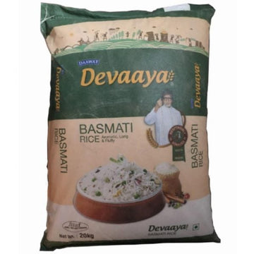 DEVAAYA BASMATI RICE 20KG - HOUSE OF DAAWAT