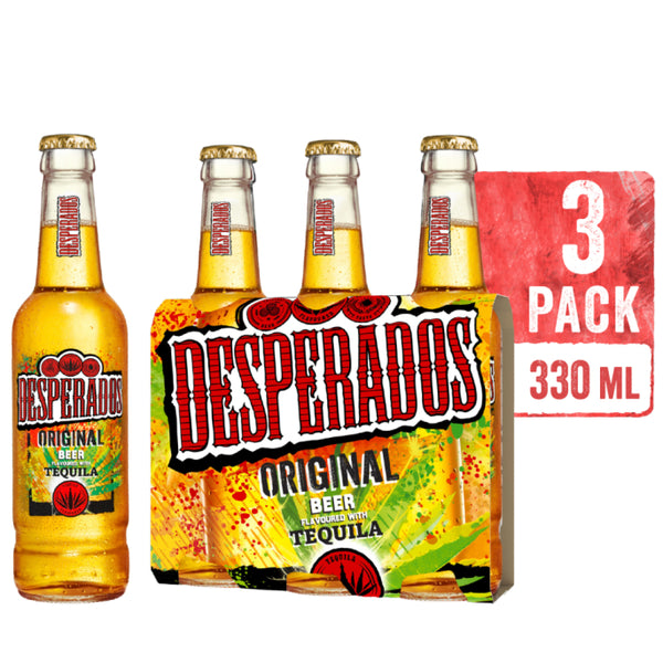 DESPERADOS 330 ML BOTTLE (PACK OF 3)