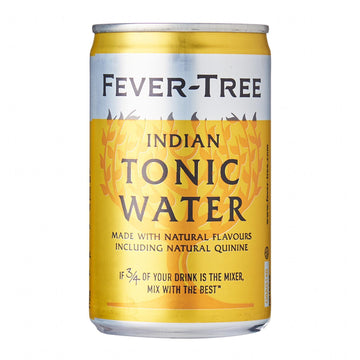 FEVER TREE INDIAN TONIC WATER 150ML X 4 UNITS (Best Before 31.05.2021)