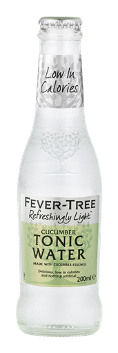 FEVER TREE TONIC 200ML - CUCUMBER TONIC LIGHT