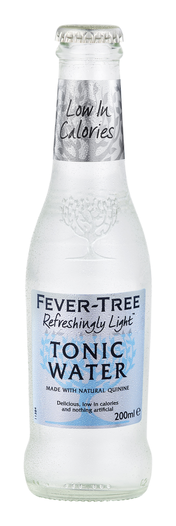 FEVER TREE TONIC 200ML - INDIAN TONIC LIGHT