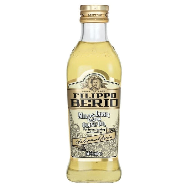 FILIPPO BERIO MILD & LIGHT BAKING & FRYING OLIVE OIL 500ML