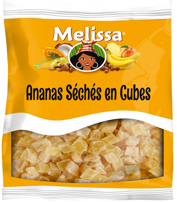 MELISSA ANANAS SECHEES CUBE 125G