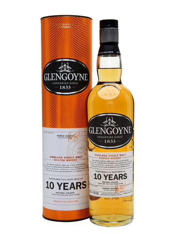 GLENGOYNE 10YO SINGLE MALT WHISKY 70CL (to redeem this product via Scott Smile Rewards you need 20,000 points)